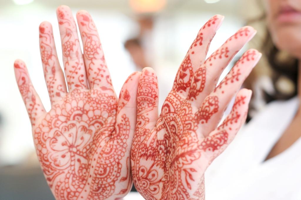 Henné mariage