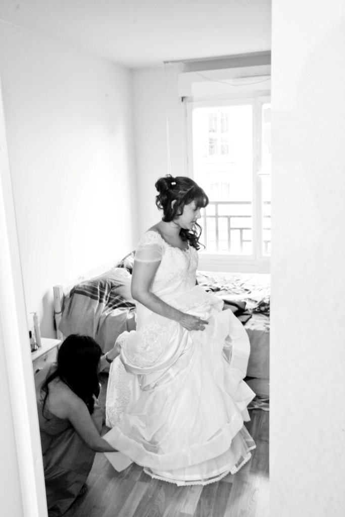 Habillage mariage