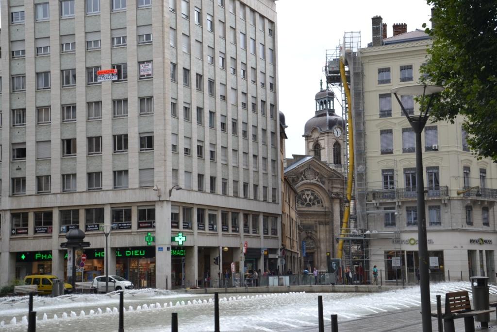 Place des Cordeliers à Lyon