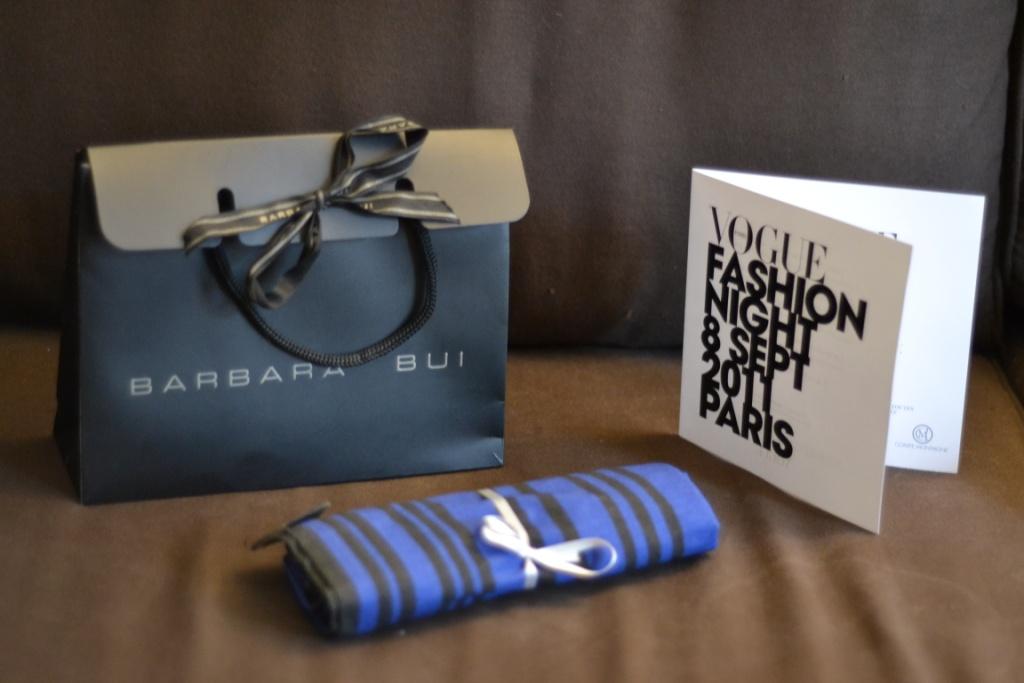Vogue fashion night cadeau barbara bui