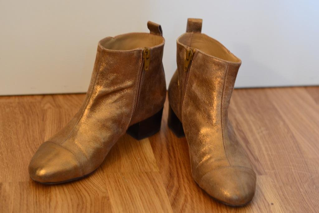 Boots sarenza doré mellow yellow