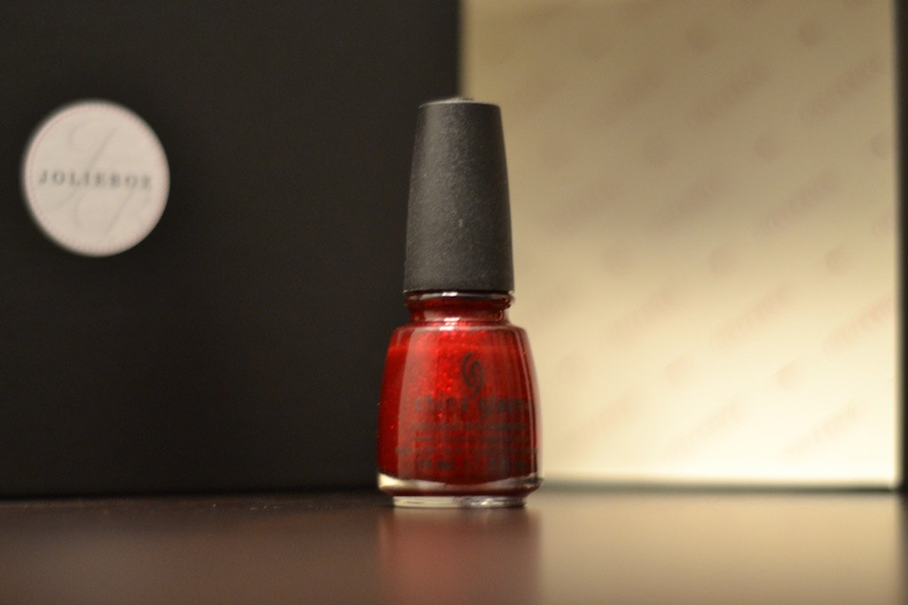 Vernis China Glaze Ruby pumps rouge