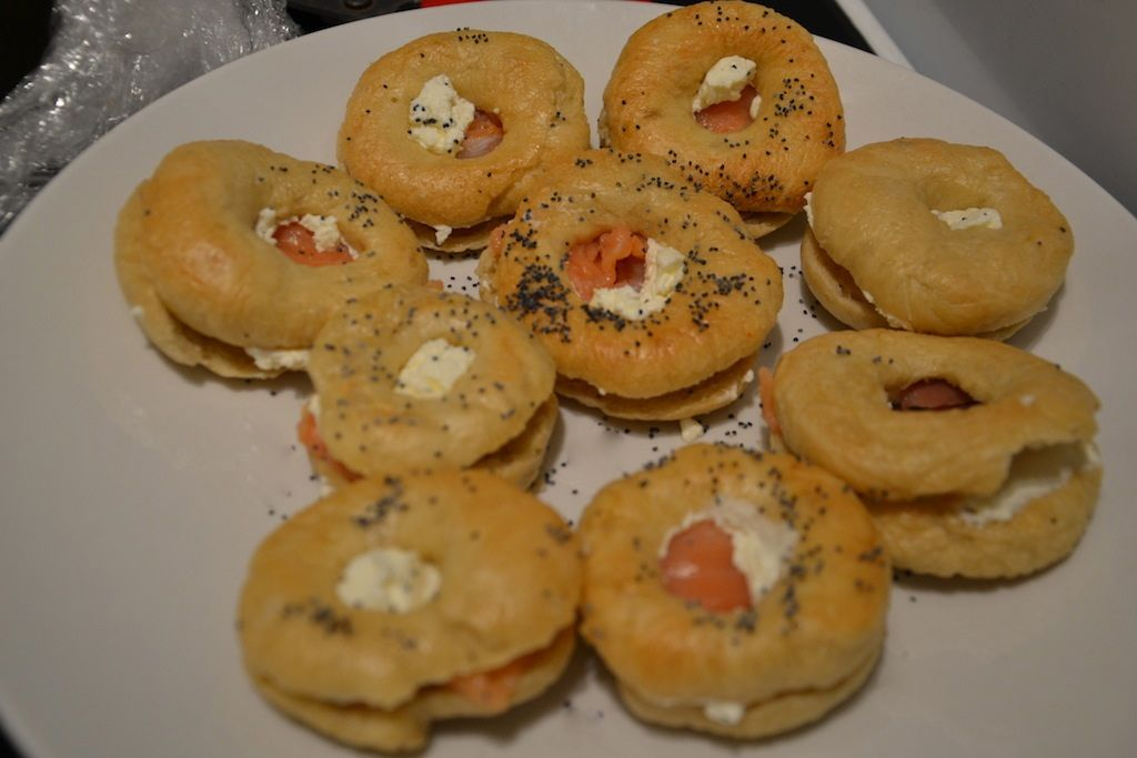 bagels saumon fromage