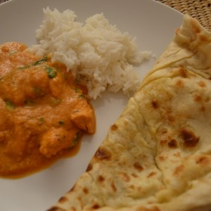 Recette indienne: butter chicken