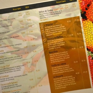 Pizzeria à Paris: Alice Pizza