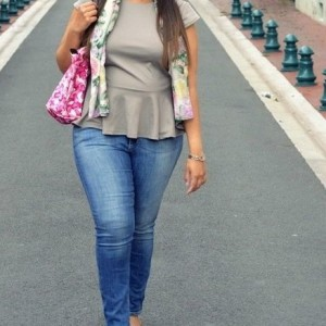 Peplum & Flowers