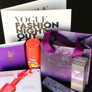 Vogue Fashion Night Out 2012