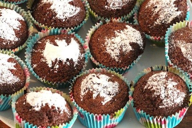 Cupcakes chocolat classique