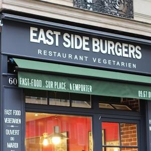 East Side Burgers: des burgers végétariens à Paris