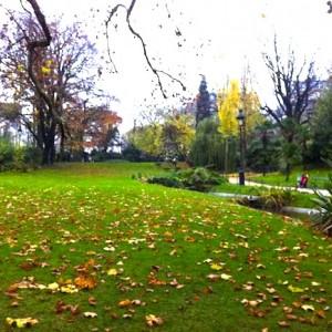 Couleurs d'automne à Paris