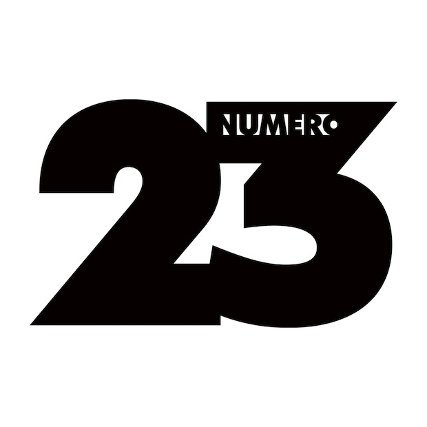 Numéro 23 Décalé