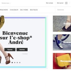 André ouvre enfin son e-shop