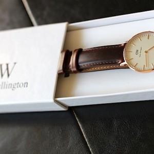 Une montre intemporelle par Daniel Wellington