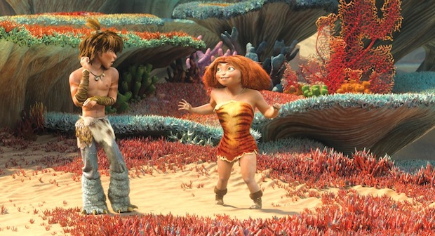 Les Croods personnages