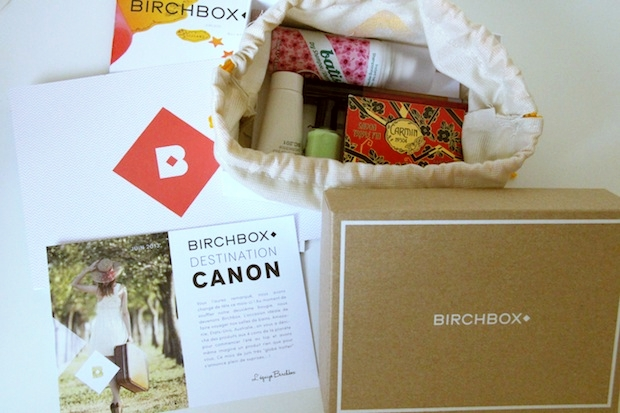 Birchbox juin 2013-2