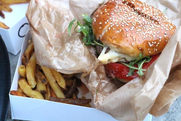 California burger photos