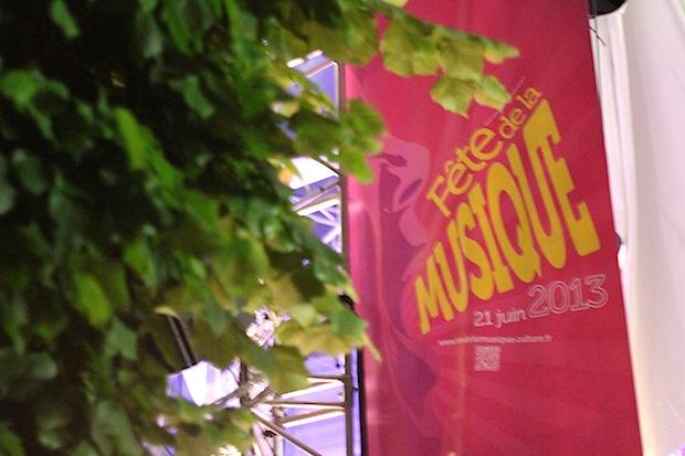 Fete de la musique jardin du Palais Royal