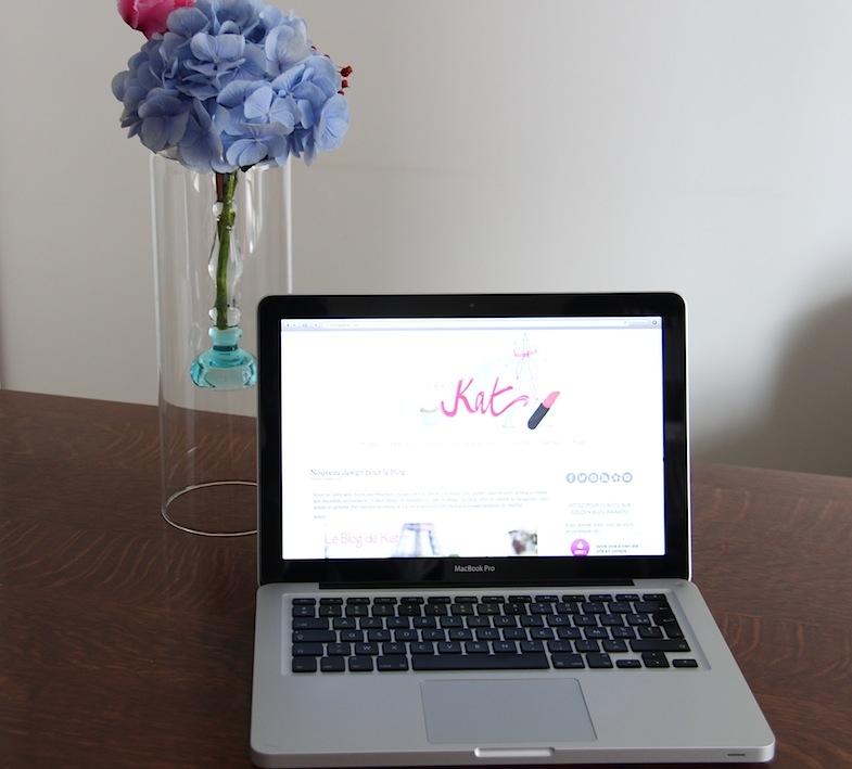 Nouveau design blog de Kat