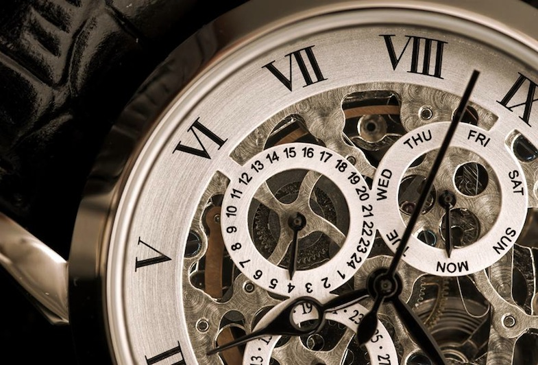 Jean bellecour detail montre