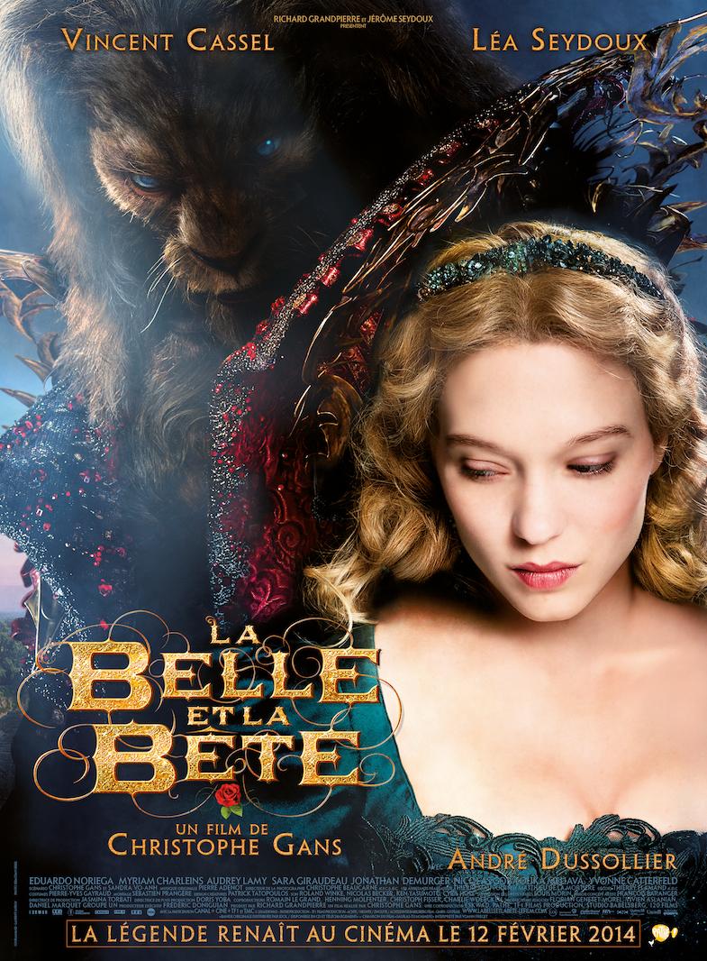 La Belle et la Bete affiche C.Gans