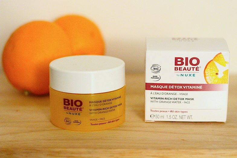 Masque detox vitamine orange Bio Beauté Nuxe-1