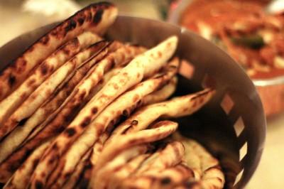 Restaurant Le Tandoor Ile Maurice naans