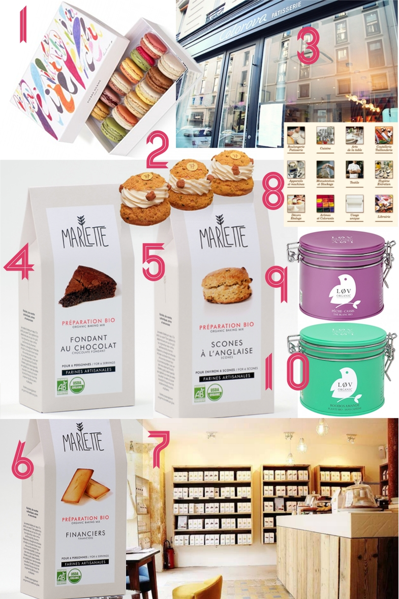 Wishlist fete des meres gourmand food