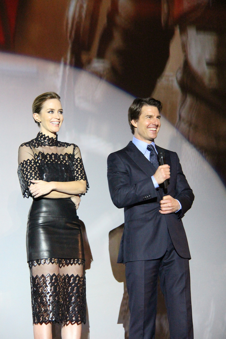 Avant-premiere Edge of Tomorrow Paris Tom Cruise-3