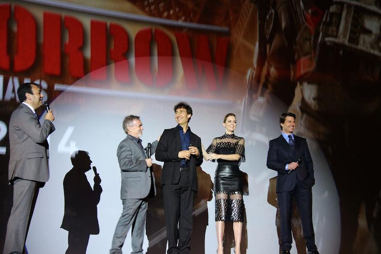 Avant-premiere Edge of Tomorrow Paris Tom Cruise-7