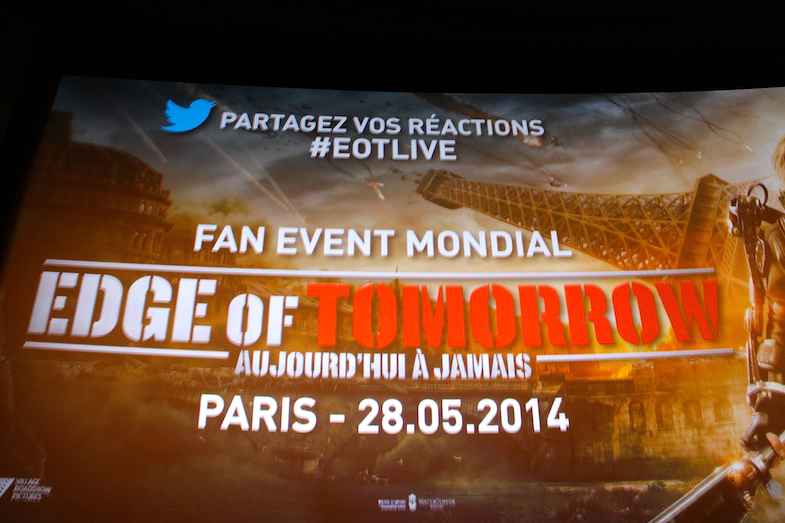 Avant-premiere Edge of Tomorrow Paris Tom Cruise-9