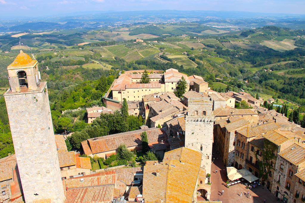 San Gimignano Italie Torre Grossa