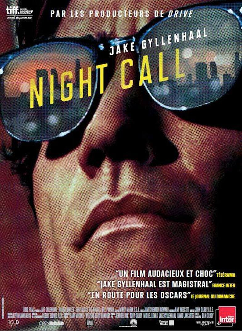 Affiche film Night Call avis critique