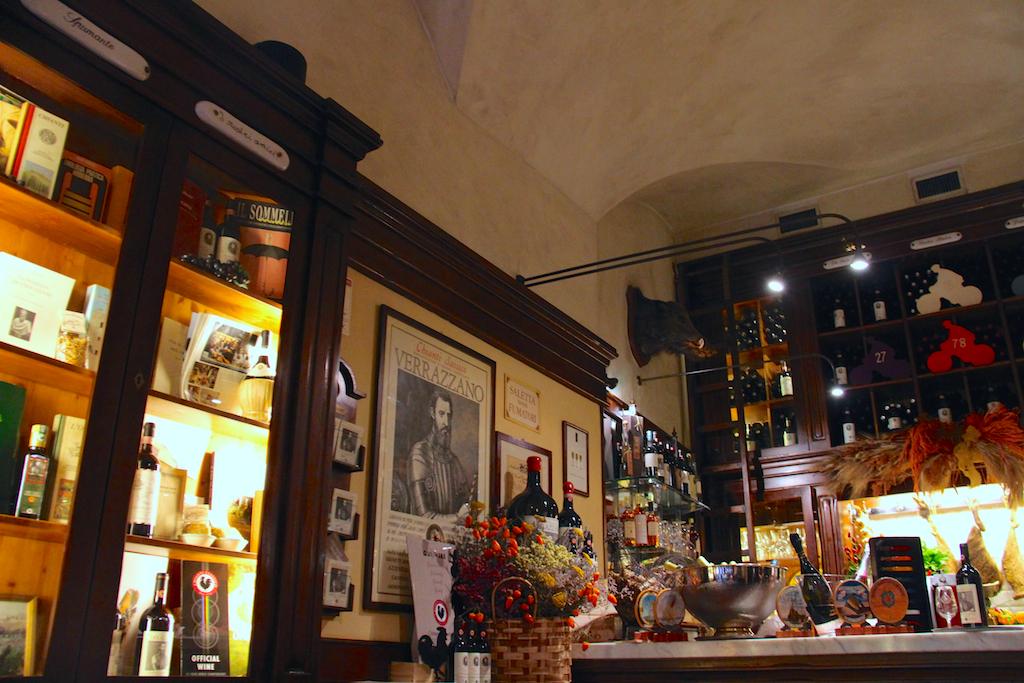 Guide Florence-16 Cantinetta dei Verrazzano