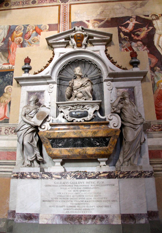 Guide Florence-19 Basilica di Santa Croce Tombe Galilée
