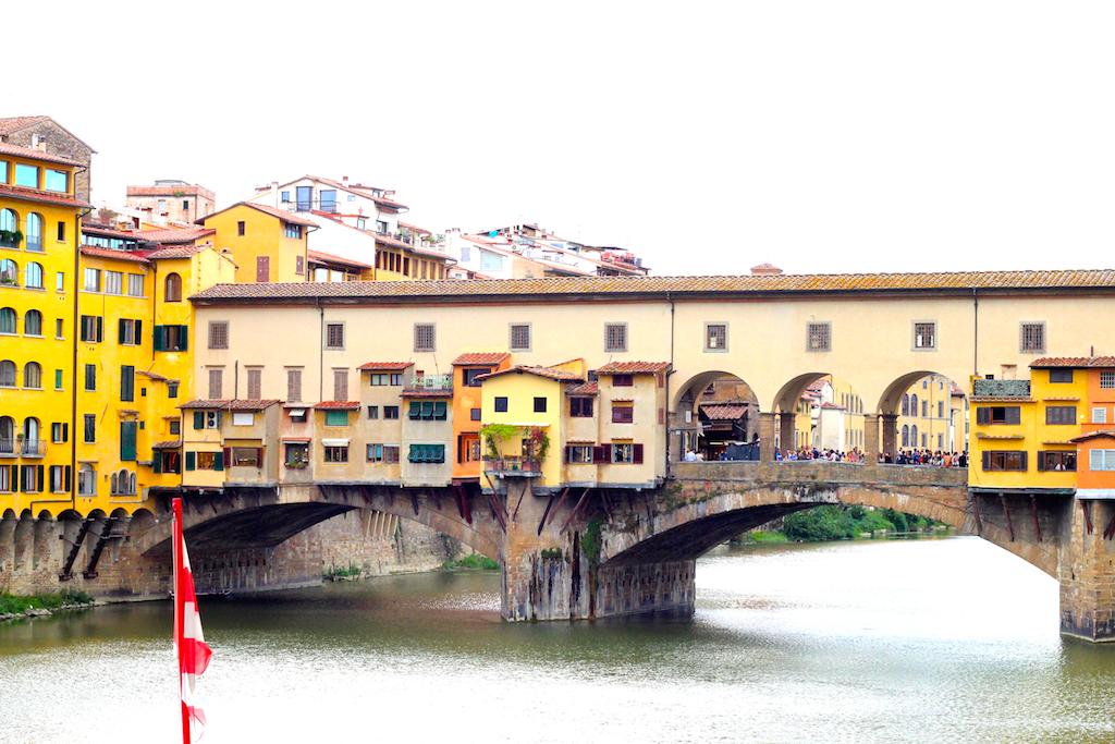 Guide Florence-2 Vue Ponte Vecchio