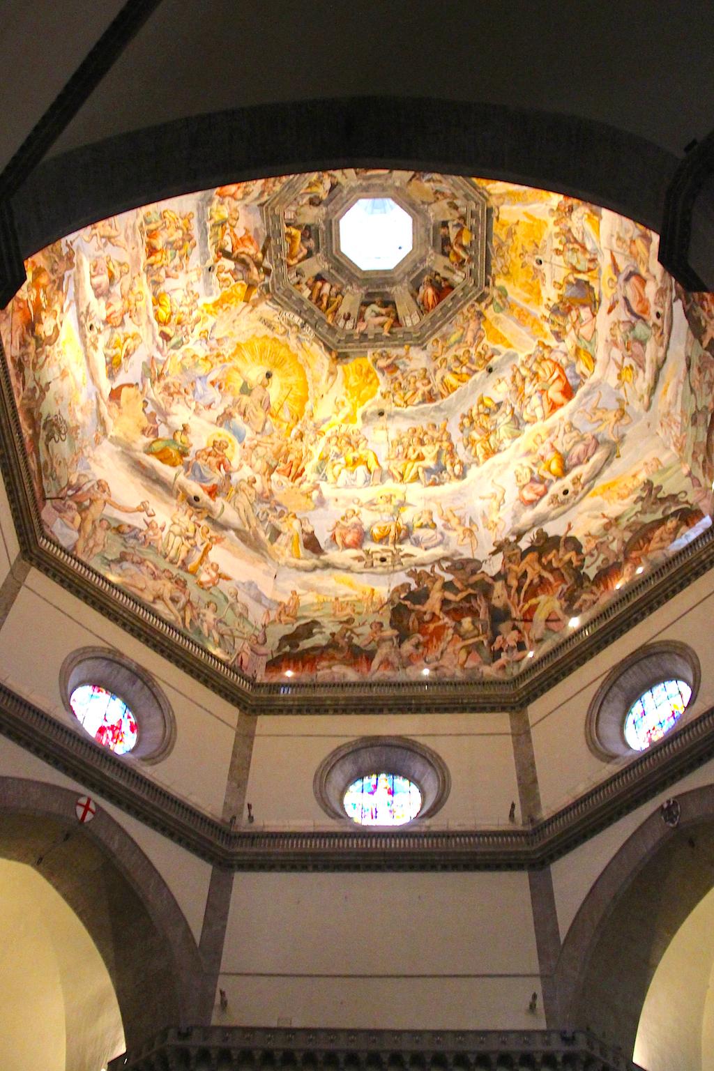 Guide Florence-26 Coupole Duomo Jugement dernier