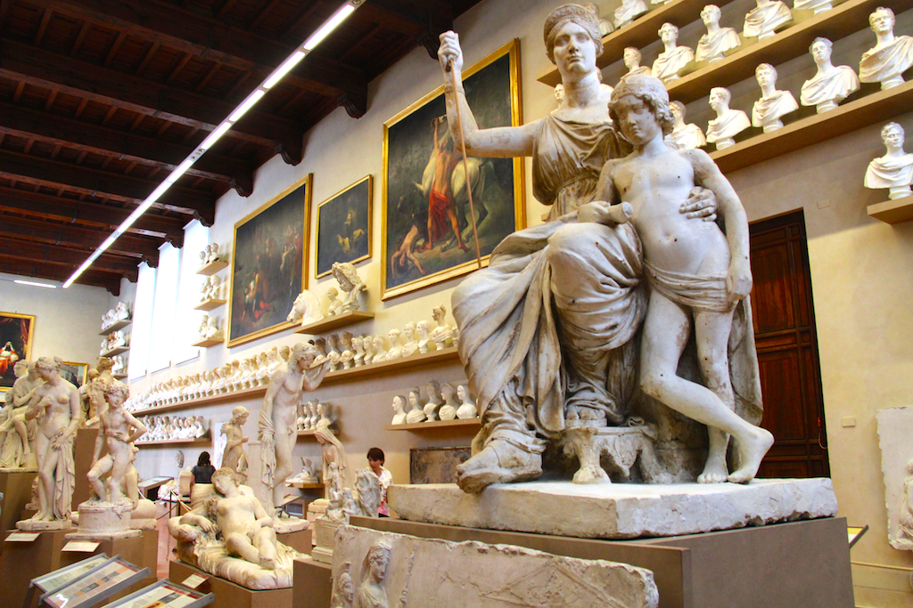 Guide Florence-8 Galleria dell'Accademia sculptures