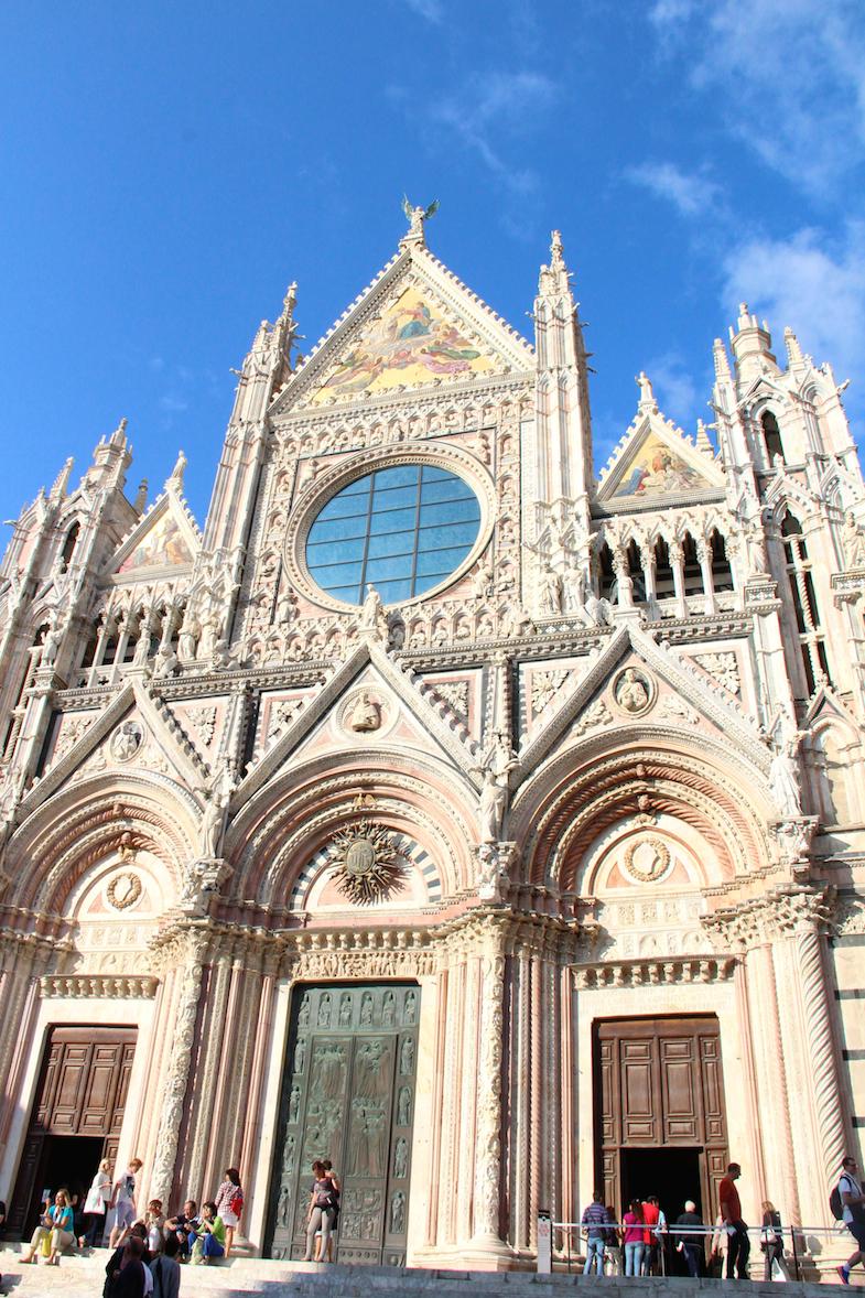 Guide Sienne Sienna facade Duomo-8