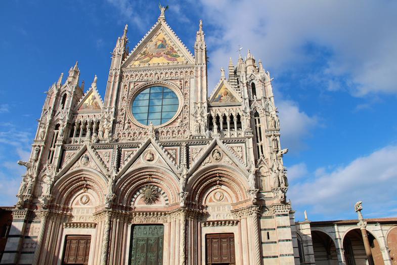 Guide Sienne Sienna facade Duomo-9