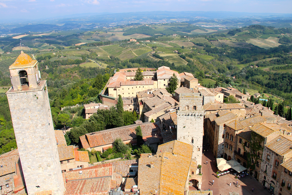 Guide San Gimignano vue de Torre Grossa-8