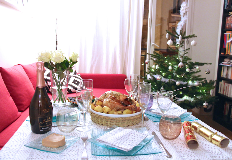 Idee recette decoration table de noel
