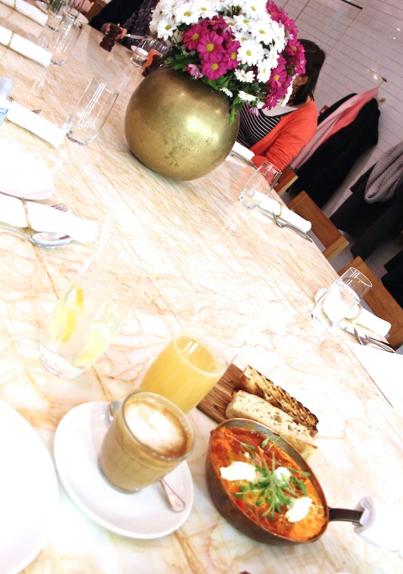 Breakfast Nopi Londres London 1