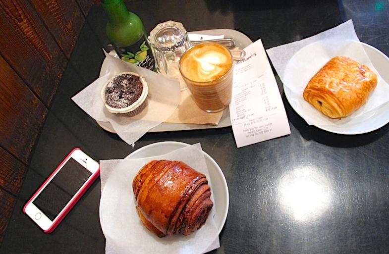 Breakfast Nordic Bakery Londres London