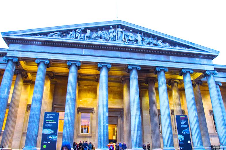 British Museum Londres London 1