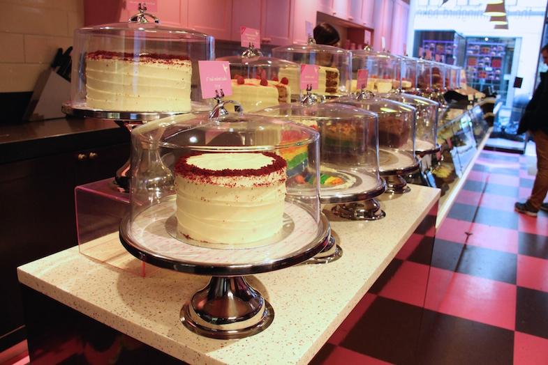 Cakes Humming Bird Bakery London