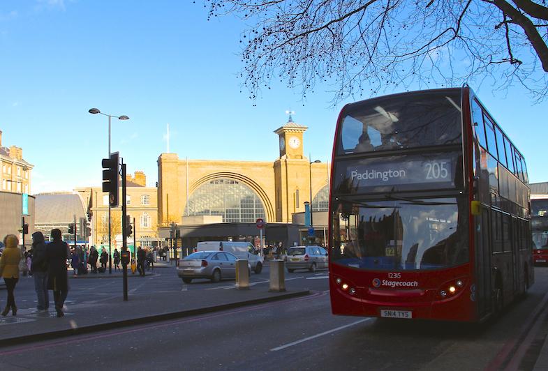 Gare St Pancras Londres