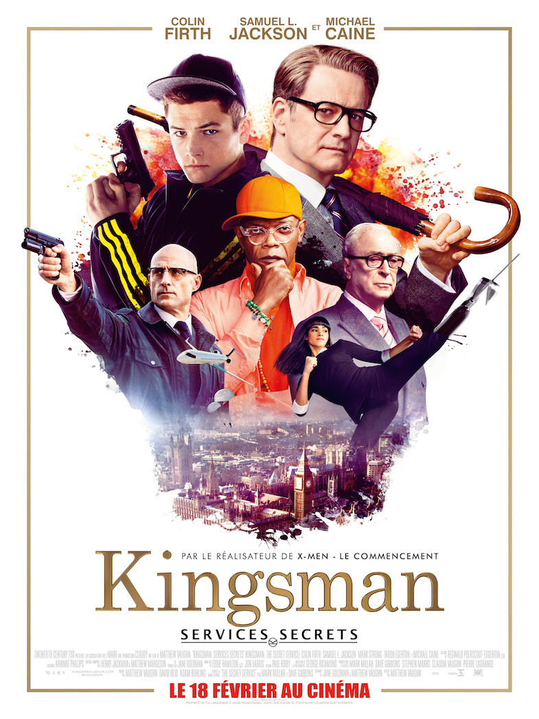 Affiche critique review Kingsman
