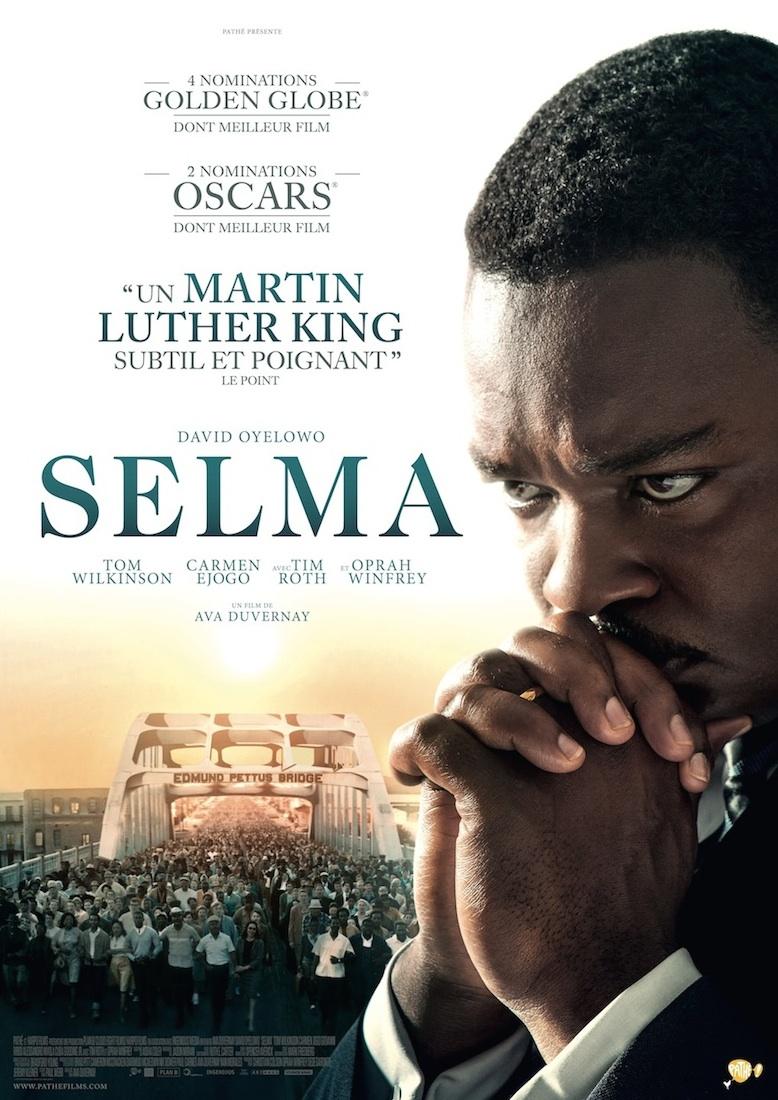 Critique review film Selma affiche