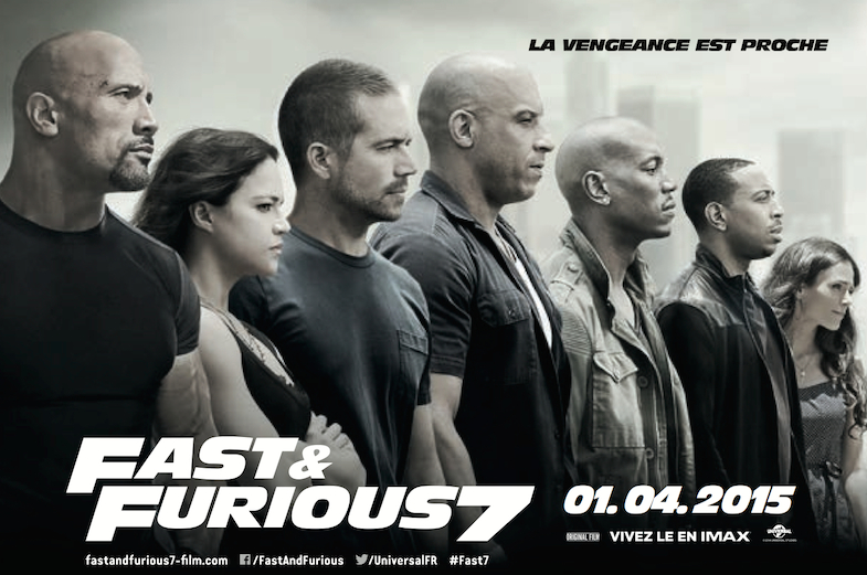 Affiche critique Fast and Furious 7