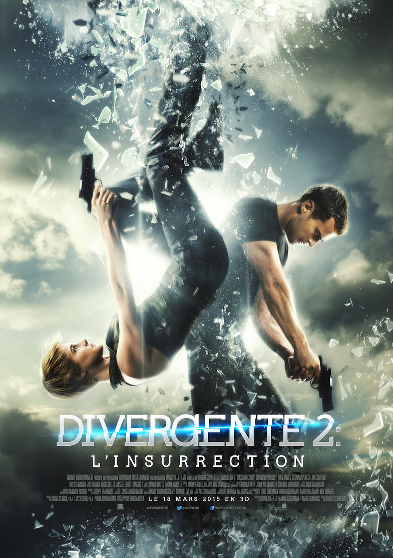 Affiche critique review Divergente 2 Linsurrection Insurgent